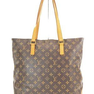 Auth Louis Vuitton Cabas Mezzo Tote Bag #7153L40B